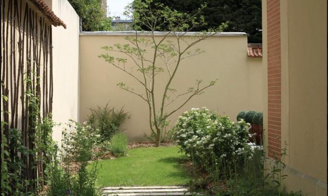Mini-jardin de ville à Versailles 1