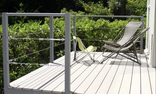 Terrasses suspendues - Jardin particulier à Garches (92) 1