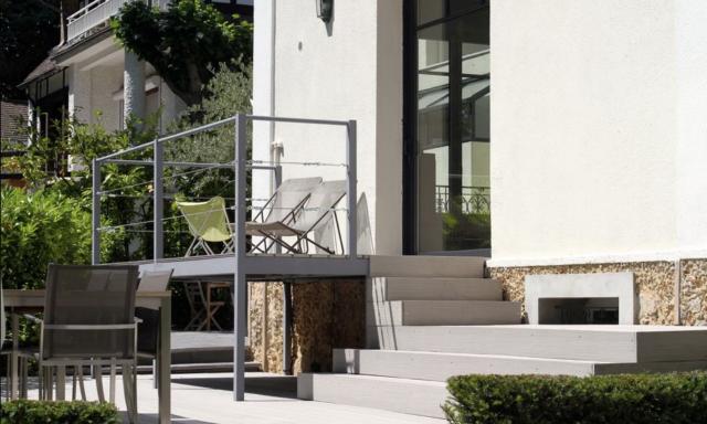 Terrasses suspendues - Jardin particulier à Garches (92) 2